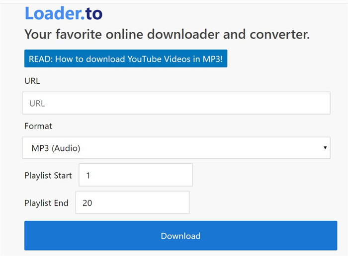 loaderto-playlist-downloader